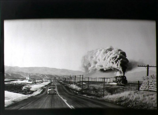 Elliott Erwitt, Wyoming, Steam-Train Press, 1954