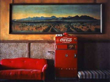 Wim Wenders, Lounge Painting, Gila Bend, Arizona, 1983