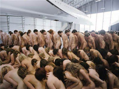 Everyday People Spencer Tunick at The Lowry