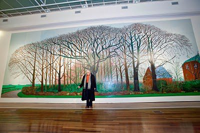 David Hockney: Bigger Trees Near Warter
