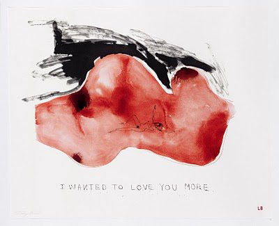 Hauser & Wirth London, Louise Bourgeois Tracey Emin, I wanted to love you more  2009-2010