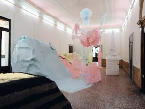 Thoughtless Gestures + Obsessive Beauty: Scotland + Venice present Karla Black, Venice Biennale