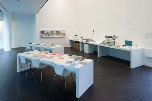 Three-Dimensional Bibliography: The Book on Books on Artists' Books, Bloomberg Space, London.