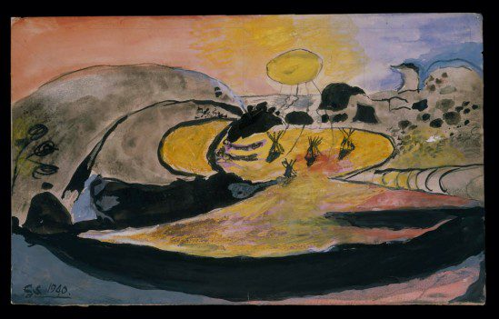Unfinished World, Graham Sutherland curated by George Shaw, Modern Art Oxford