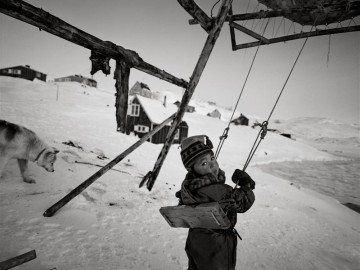 4 Girl in a swing, Tiniteqilaaq, East Greenland 1997