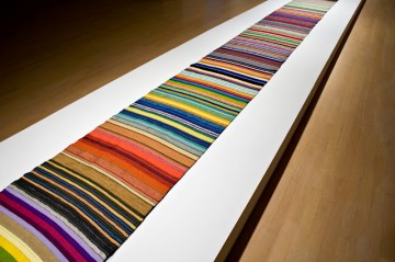 Anne Wilson, Local Industry Cloth (detail), 2010. Collection of Knoxville Museum of Art.