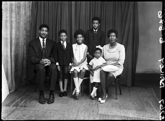 Family Portrait, 1960s, from the Belle Vue Studio Archive © Bradford Museums and Galleries.