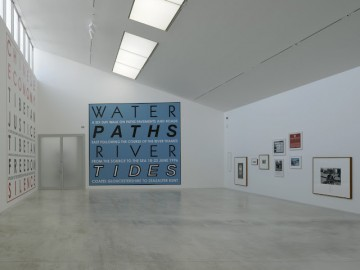 Hamish Fulton Walk-Installation view Turner Contemporary 2012-2-Courtesy David Grandorge
