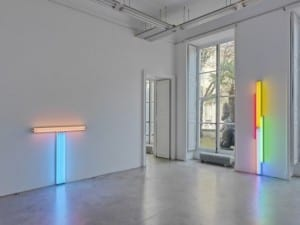 A Leap Beyond the Physical, Dan Flavin: An Installation, Galerie Perrotin, Paris