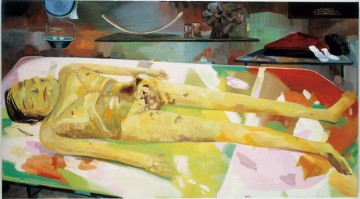 Dana Schutz The Autopsy of Michael Jackson (2005). Courtesy Friedrich Petzel Gallery, New York.