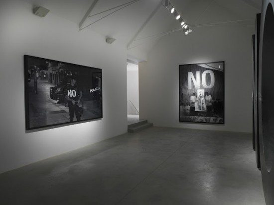 Santiago Sierra: Dedicated to the Workers and Unemployed | Lisson Gallery | London