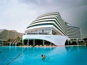 Reiner Riedler, Titanic Resort Hotel, Lara Beach, Antalya, Turkey. Fake Holidays. © Reiner Riedler / Anzenberger.