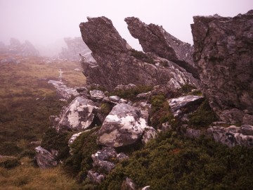 3. Mount Longdon, site of the bloodiest battle, 2006