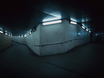 Bend In Pedestrian Tunnel, SE1