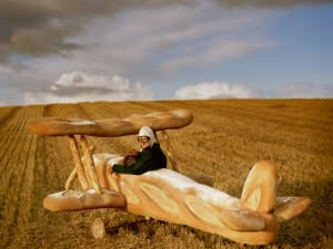 Tim Walker, Rollo Hesketh-Harvey and his Baguette Biplane, 2009. Eglingham Hall, Northumberland.