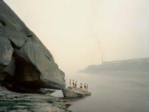 Nadav Kander, Yibin I (Bathers), Sichuan Province.