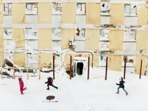 Evgenia Arbugaeva. After School. Tiksi.