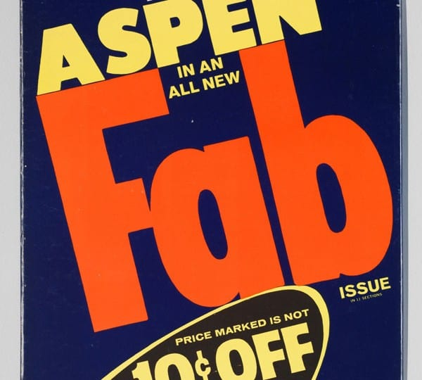 Review of Aspen Magazine: 1965-1971, London