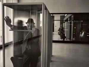 Garry Winogrand, Kennedy Airport, New York, 1968.