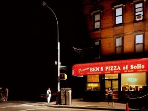 Kevin Cooley, Soho Pizza for Men in Black II, New York City.