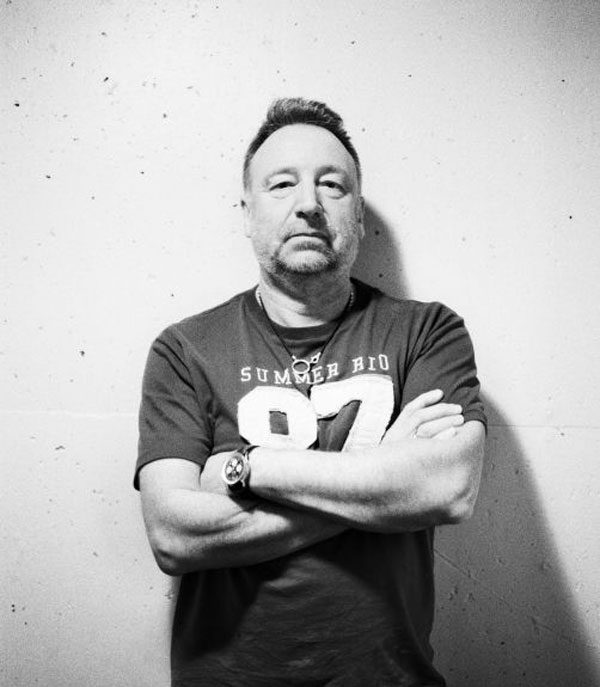 Joy Division's Peter Hook and Sonic Youth's Kim Gordon at MCA Chicago