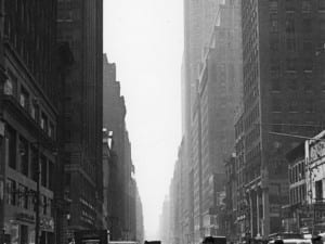 Rudy Burckhardt, Crossing, c.1948