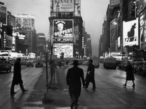 Rudy Burckhardt, Times Square Dusk, 1948