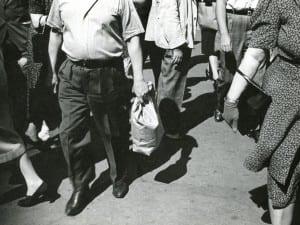 Rudy Burckhardt, Midday Crowd, c.1939