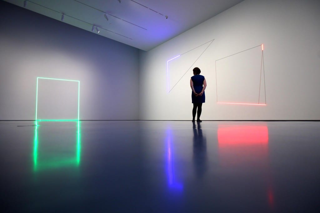 Review of Haroon Mirza, The Hepworth Wakefield
