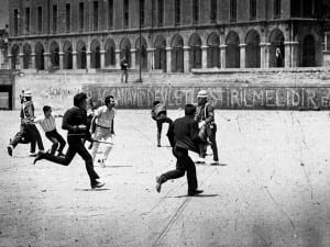 Halil. Student demonstrations, Istanbul, 1968.