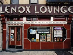 James & Karla Murray, Lenox Lounge, Manhattan, 2004. From STORE FRONT – The Disappearing Face of New York.