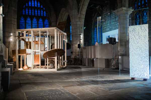 Aesthetica Art Prize Exhibition at York St Mary's