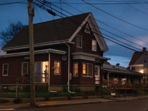 Gail Albert Halaban, Marty Welch's House, 2012. From Hopper Redux. © Gail Albert Halaban.