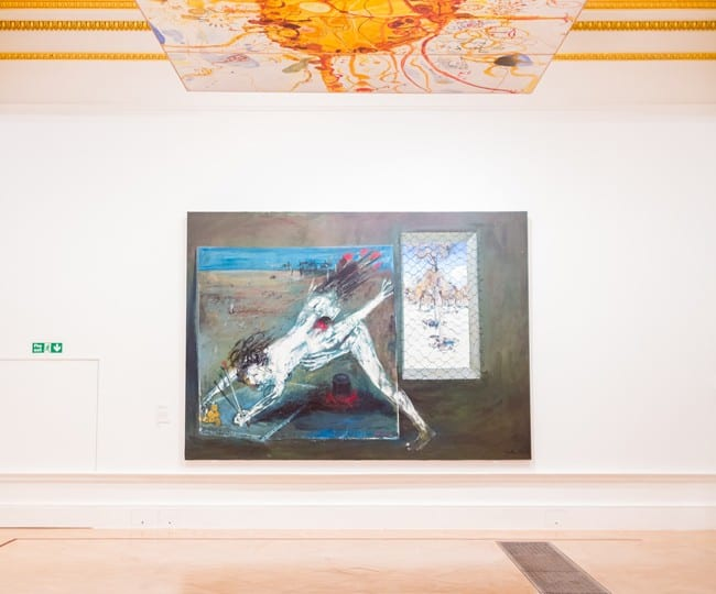 Interview with John Olsen on Australia at Royal Academy of Arts