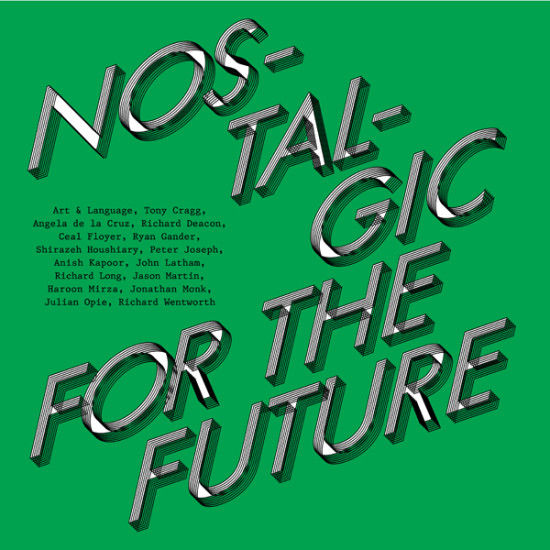 Invite - Nostalgic For The Future, Private View, 14 November 2013 6-8pm, Lisson Gallery