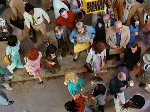 Alex Prager Crowd #11 (Cedar and Broad Street) 2013