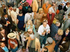 Alex Prager Crowd #4 (New Haven) 2013