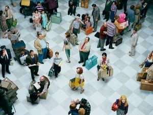 Alex Prager Crowd #7 (Bob Hope Airport) 2013