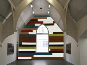 Review of 3 Drawing Rooms: David Tremlett, Ikon Gallery