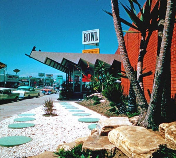Bowlarama: California Bowling Architecture 1954-1964, A+D Architecture and Design Museum, Los Angeles