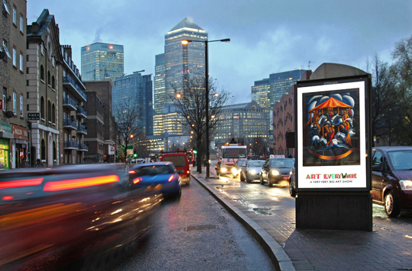 Art Everywhere. UK Wide Billboard and Poster-site Exhibition 21 July - 31 August