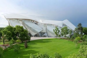 Opening of The Fondation Louis Vuitton in the Jardin d'Acclimatation
