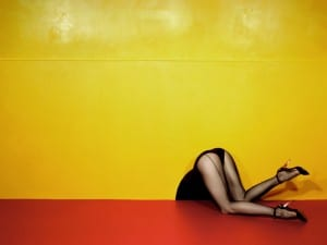 Guy Bourdin, Charles Jourdan, Spring 1979.