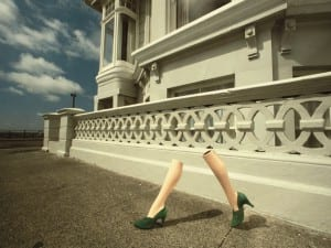 Guy Bourdin, Charles Jourdan, Autumn 1979.