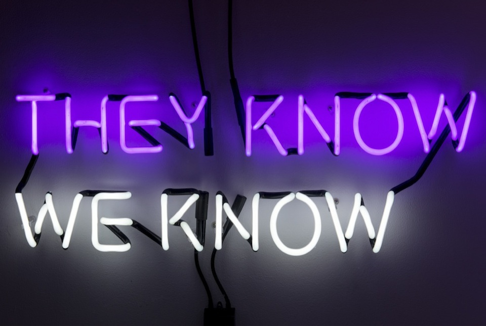 Review of Tim Etchells: The Facts on the Ground, Vitrine Gallery, London