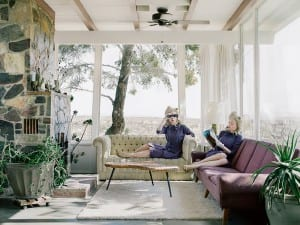 Anja Niemi, The Desert House, 2014. From the series Darlene & Me.