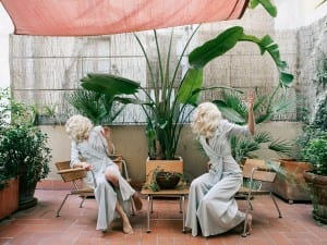 Anja Niemi, The Terrace, 2014. From the series Darlene & Me.