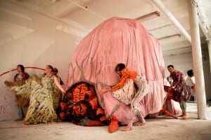 Review of Marvin Gaye Chetwynd's The King Must Die at Edinburgh Art Festival