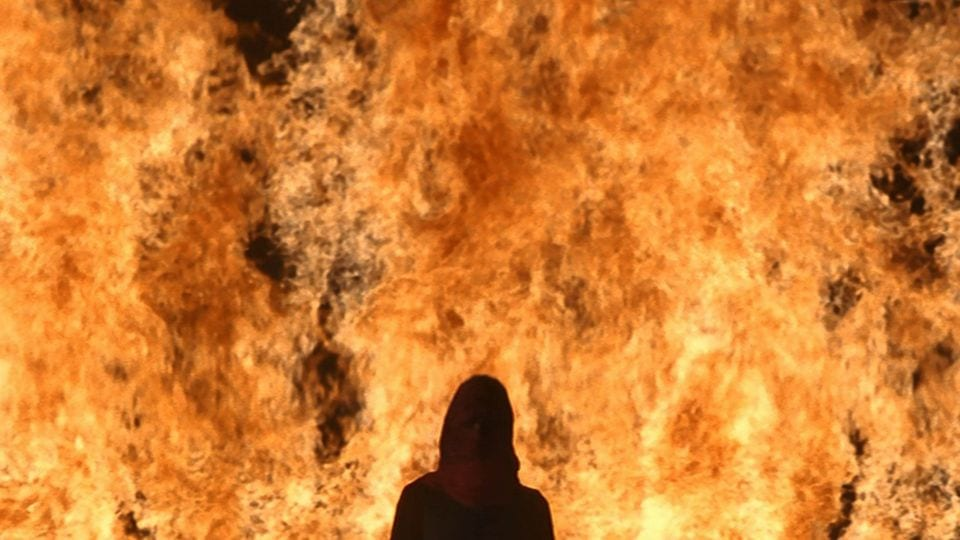Bill Viola's The Trial at Yorkshire Sculpture Park