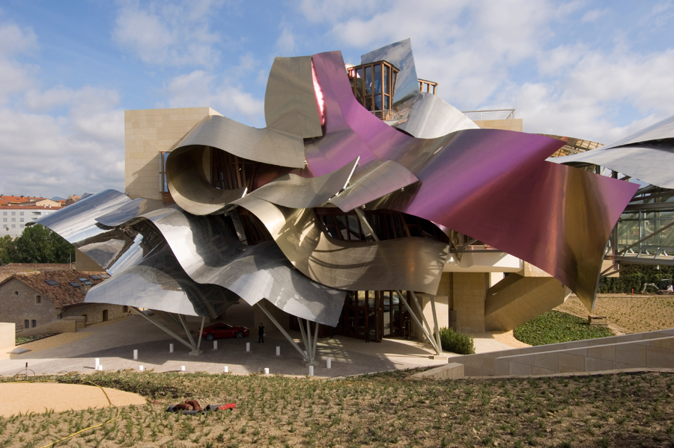 Aesthetica magazine frank gehry lacma los angeles for Bodegas marques de riscal